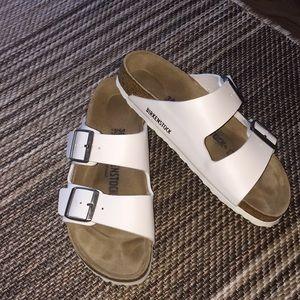 Birkenstock Arizona Sandals White 38